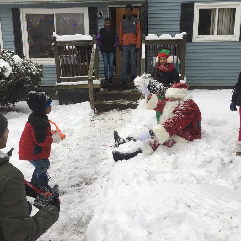 Family 3 Santas revenge