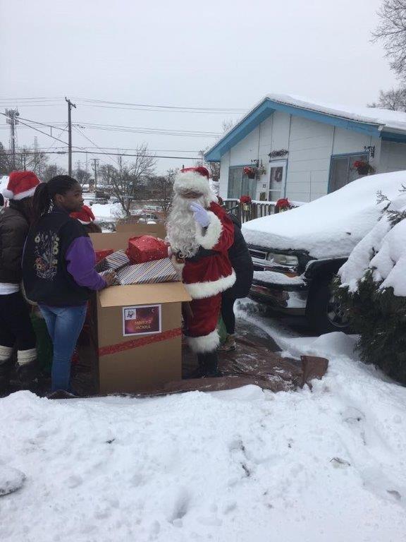 Family 3 Santa and Jac