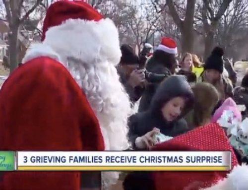 WXYZ Detroit | Grieving metro Detroit families receive massive Christmas surprise